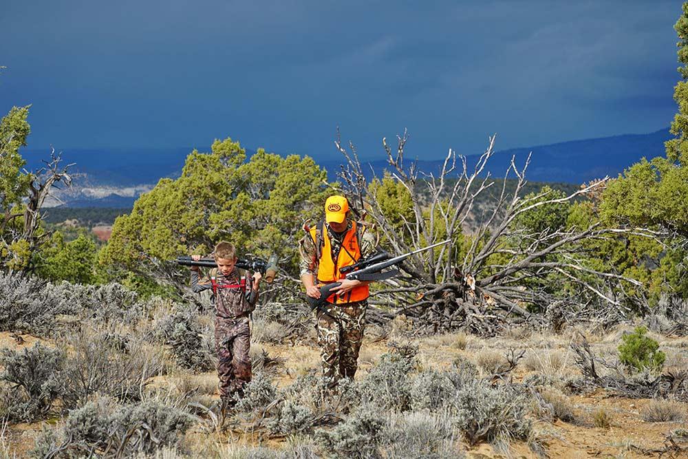 two hunters southern utah