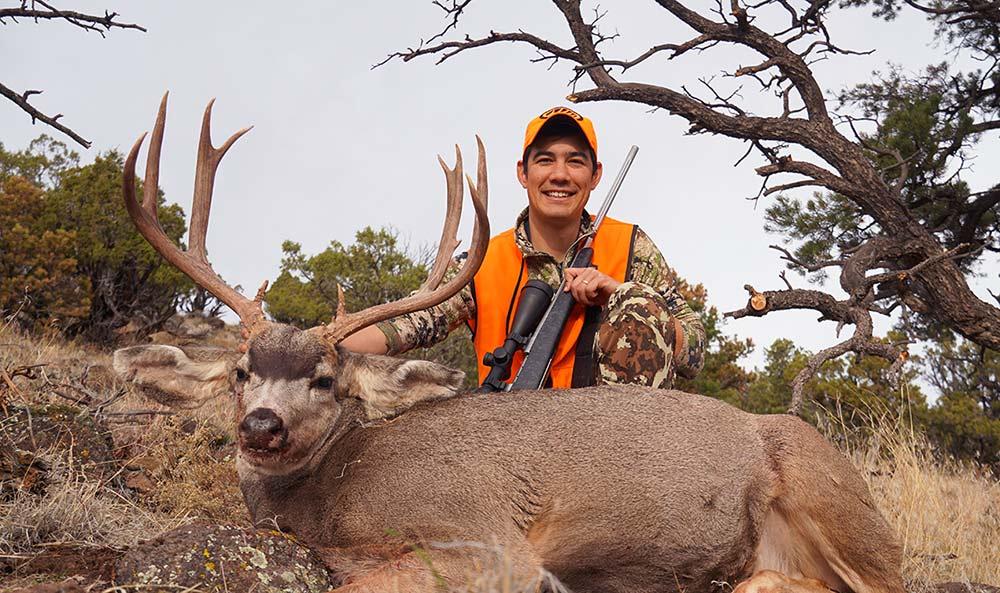 alex robinson mule deer hunting