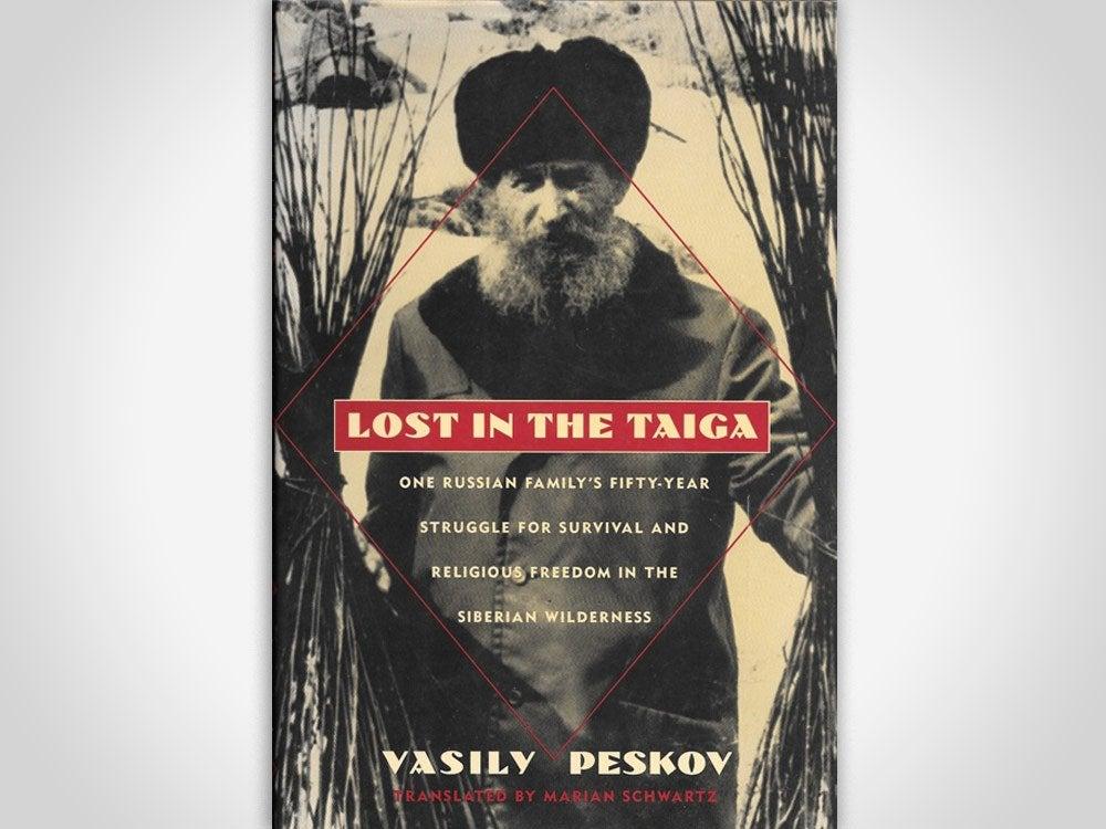 Lost in the taiga book cover