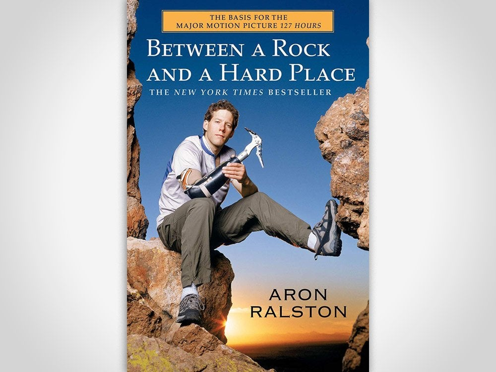 between a rock and a hard place book cover