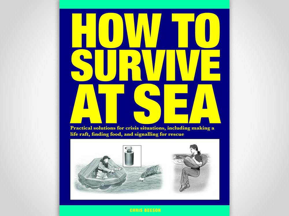 how to survive at sea book cover