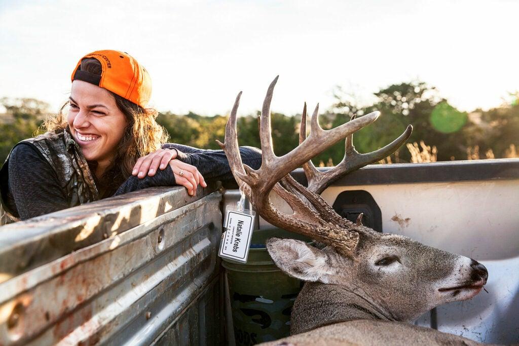 buck in the truck