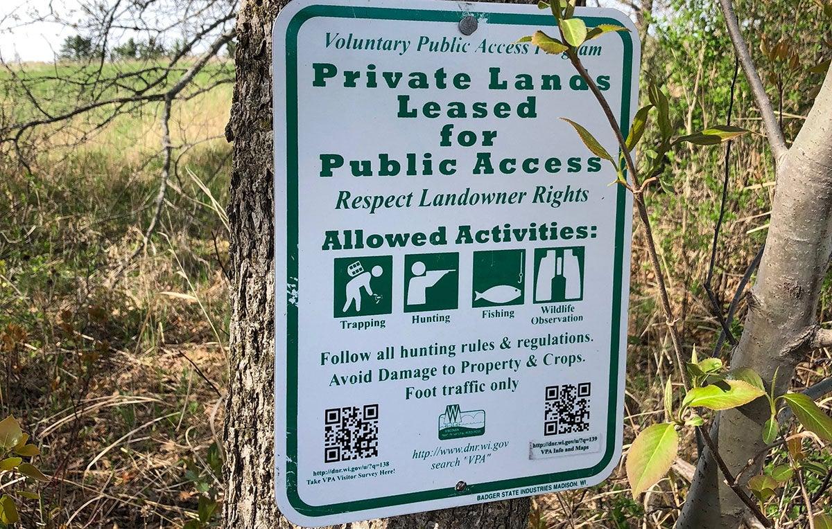 voluntary public access