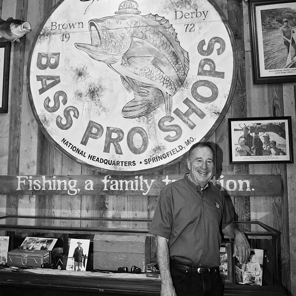 Johnny Morris founder of Bass Pro Shops