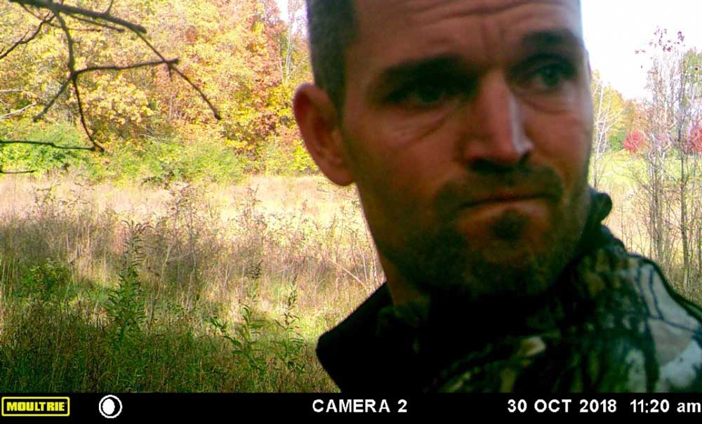 hunter caught on trail cam