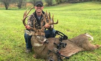 Michigan Bowhunter Kills 227-inch Monster Whitetail Buck