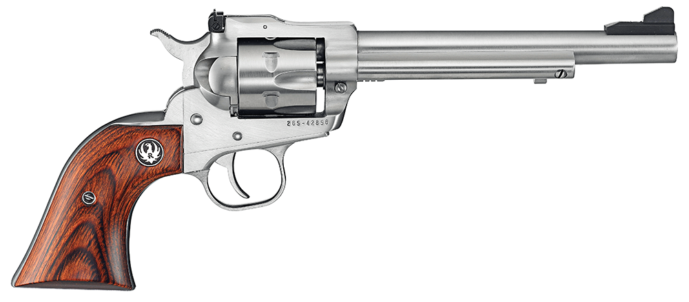 ruger single six stainless steel handgun