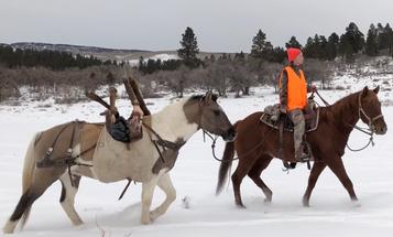 Video: Cheyenne's Late-Season Cow Elk Hunt