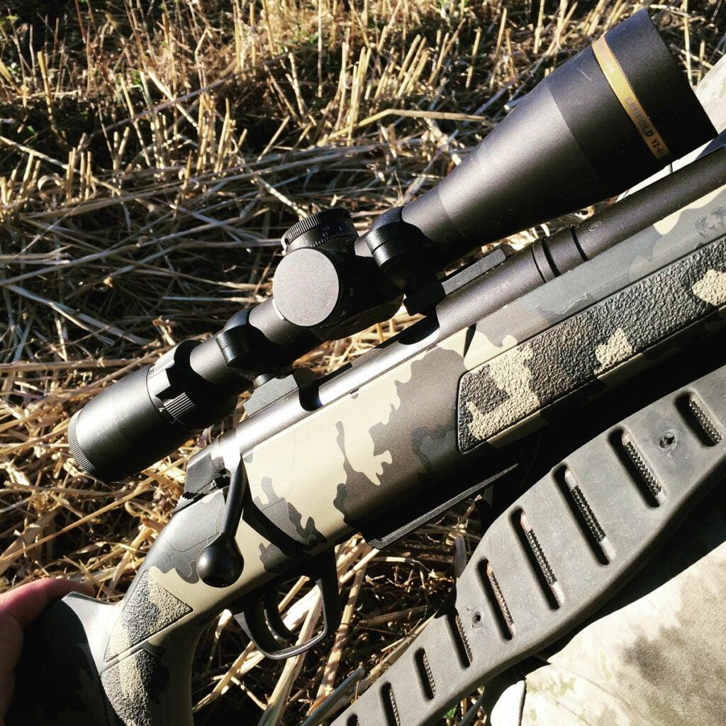 whitetail hunting rifle