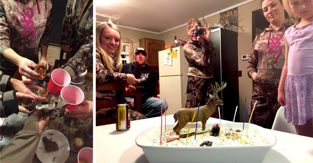 birthday hunting camp