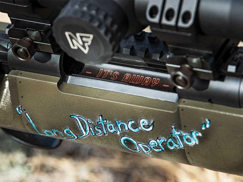 custom paint jobs long range rifles