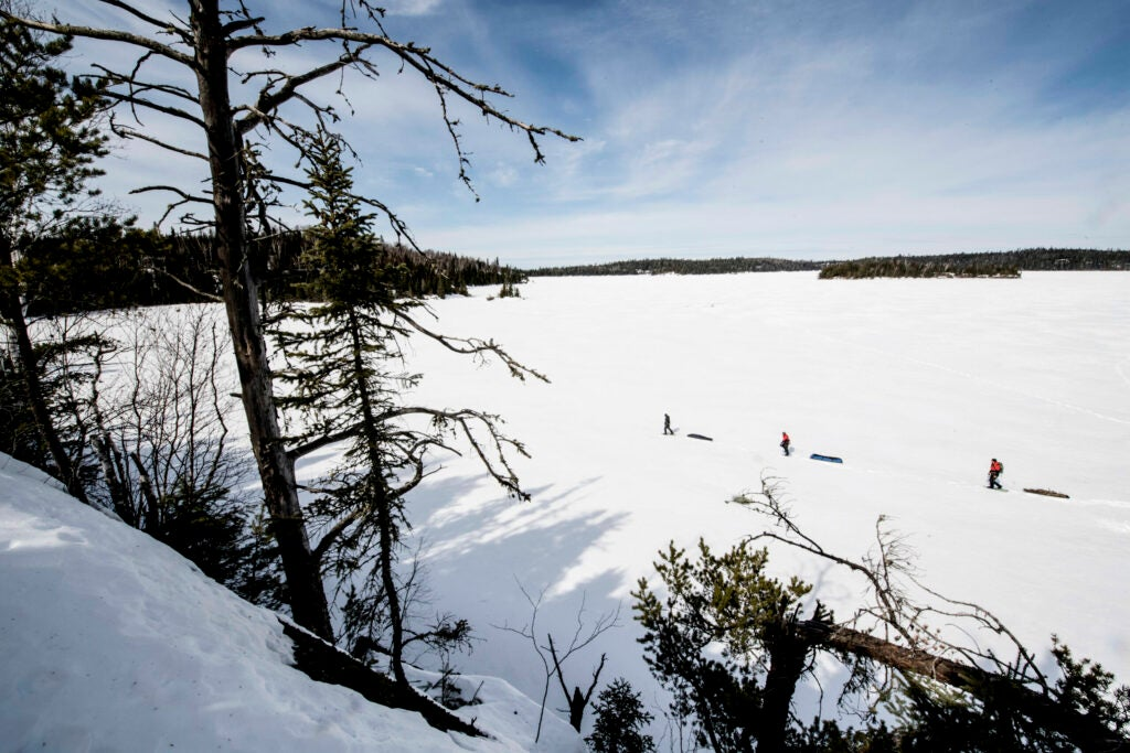 pulk sleds boundary waters
