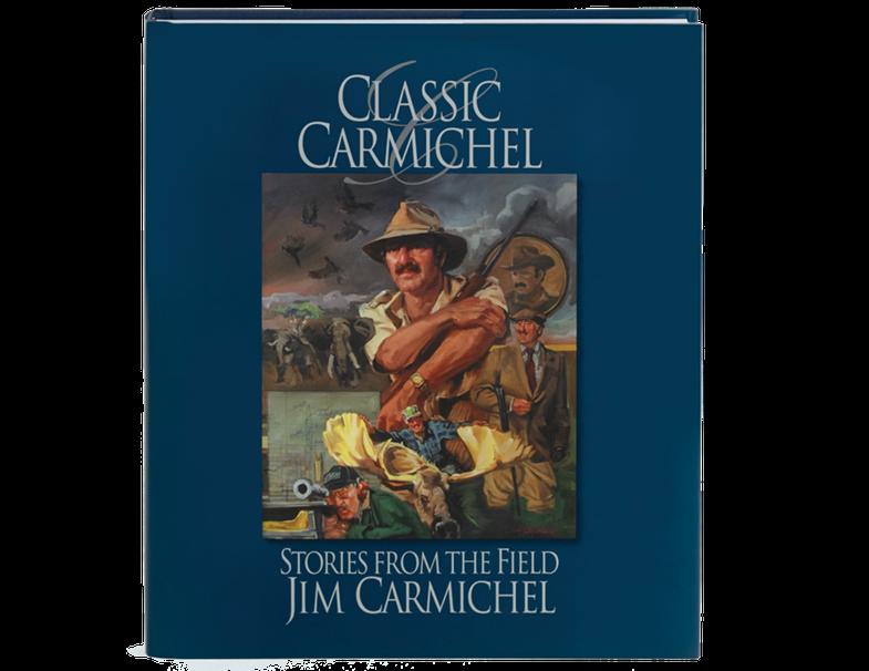 Jim Carmichel, big game hunting, book release, gun editor, long form hunting stories