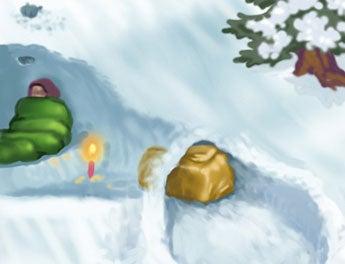 Snowcave Building Basics