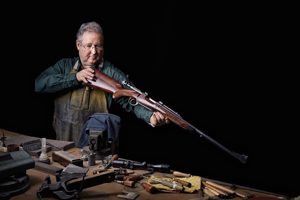 gunsmithing, american gunsmiths, ruger, griffin & howe, bass pro shops, paul chapman, michael v. loder, dave gregor, chris peters