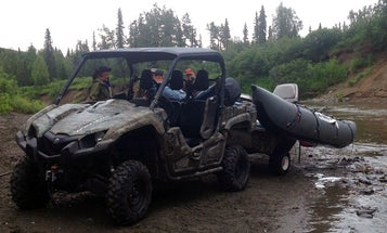 Dispatch from Alaska: Finding the Fish with a Raft and UTV