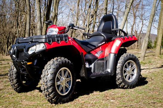 ATV Review: 2012 Polaris Sportsman Touring 850 H.O