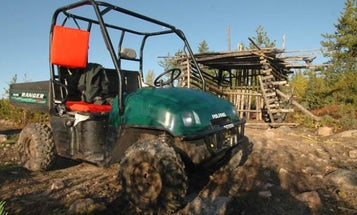 Protect Your ATV in Bear Country