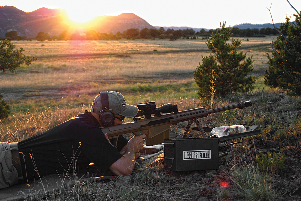 Accurizing the Barrett .50 BMG