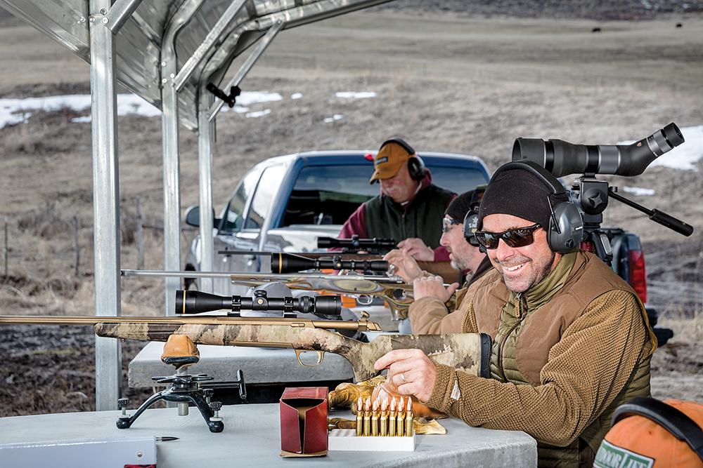 browning x-bolt rifle test