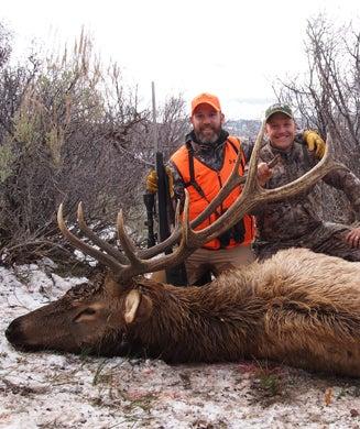 Late-Season Elk Hunting in the Uinta Mountains