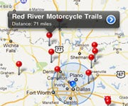 Smartphone App Helps You Find New Trails to Ride