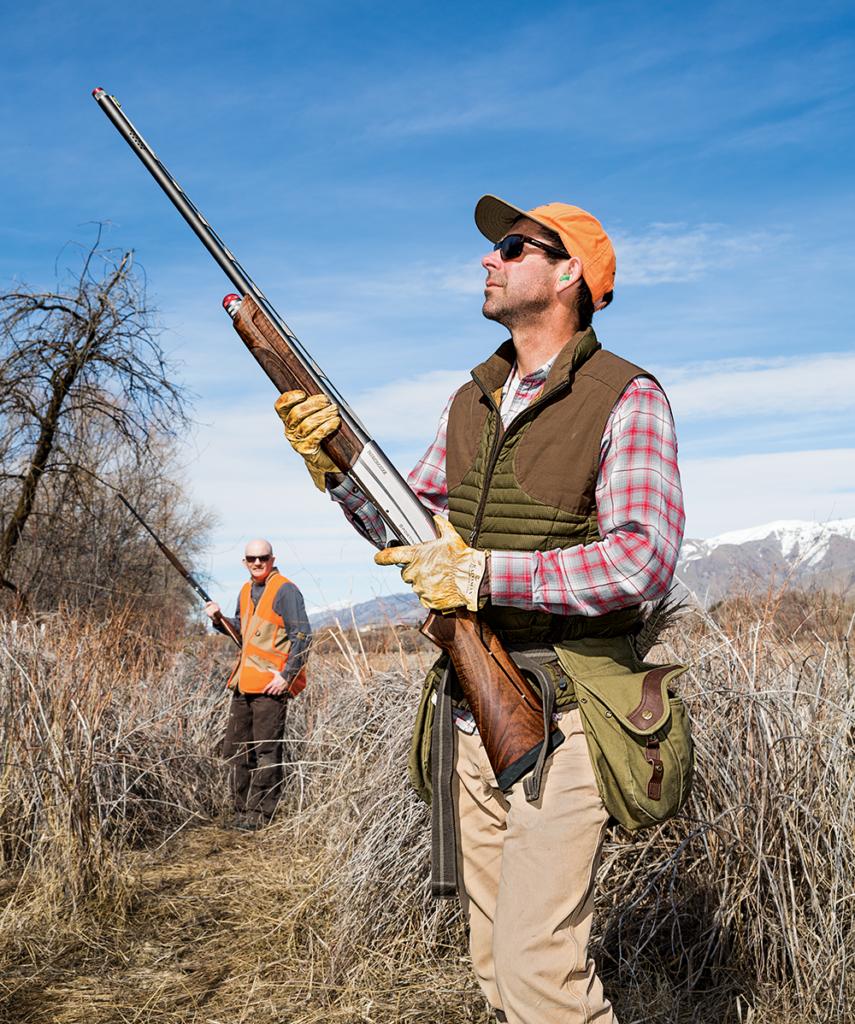 Andrew McKean testing Winchester SX3