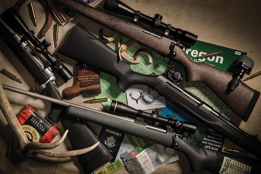 30-Somethings: Four Trophies, Four .30-Caliber Rifles