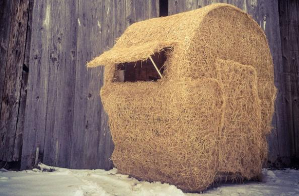 DIY Project: Make Your Own Bale Blind