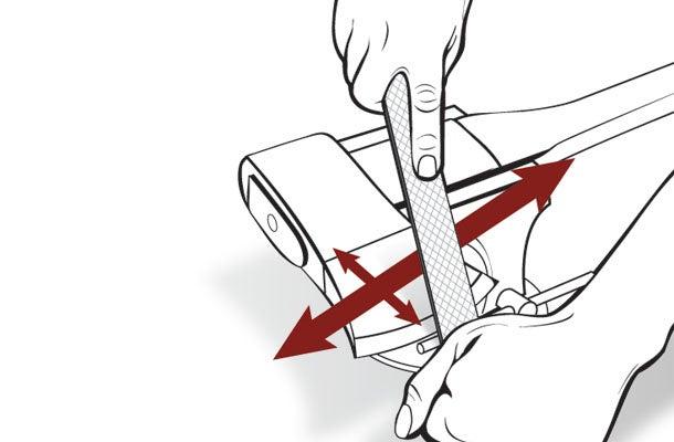 How to Sharpen an Ax