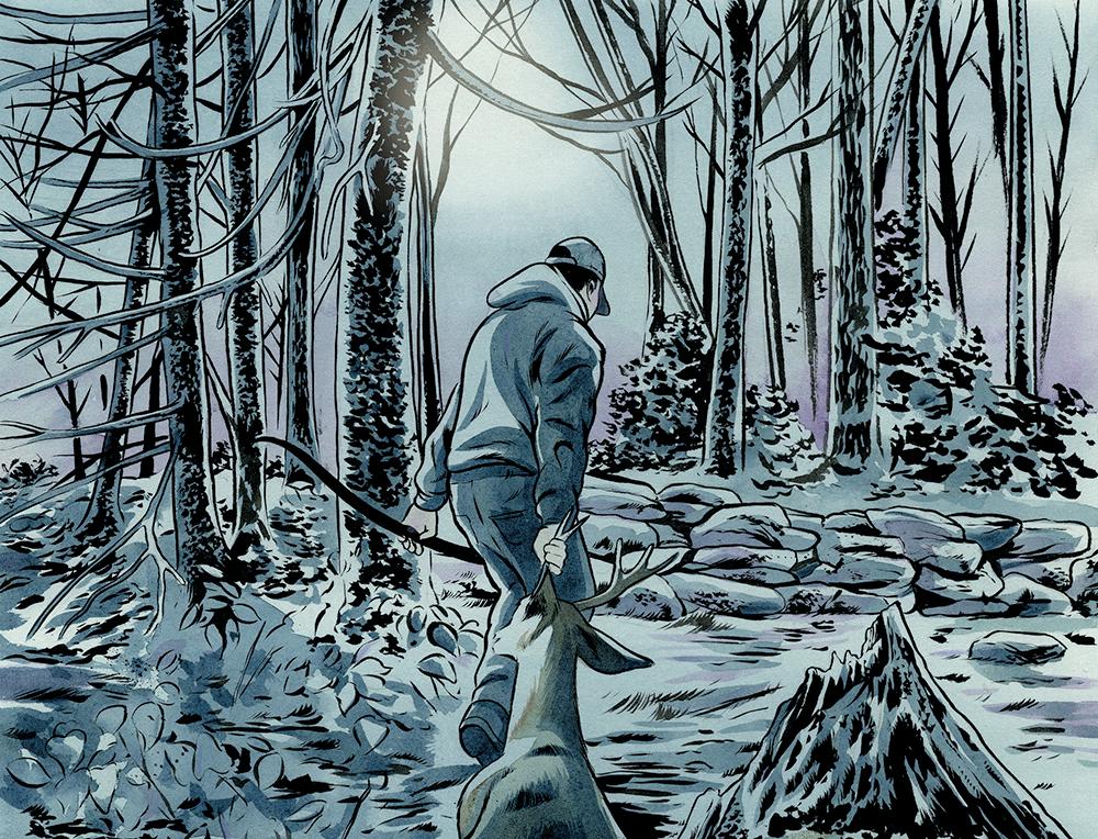 deer hunting, first deer