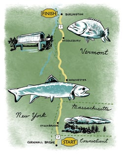Best Road Trips for Outdoorsmen: Cornwall, CT to Burlington, VT