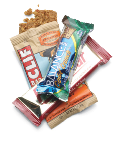 Take your pick of the best survival foods. Start with easy-to-pack energy bars.