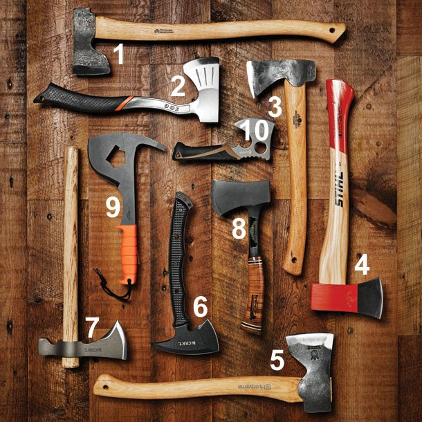 Our 10 Favorite Short Axes, Hatchets, and Tomahawks