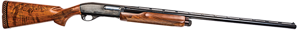 The Remington Model 870 shotgun