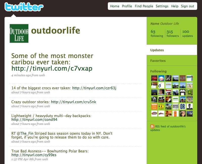Join OL on Twitter, Facebook and MySpace!