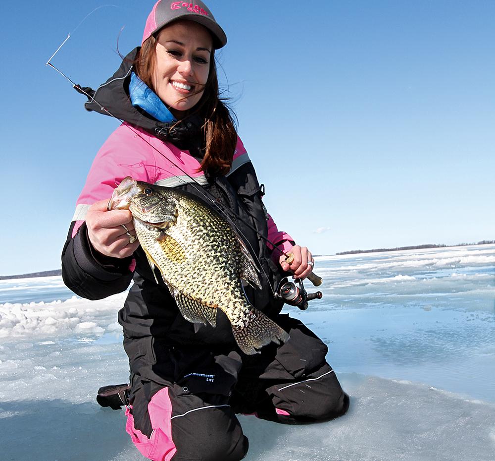 New Ice Fishing Tactics for Big Panfish