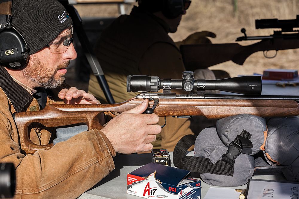 outdoor life rifle test