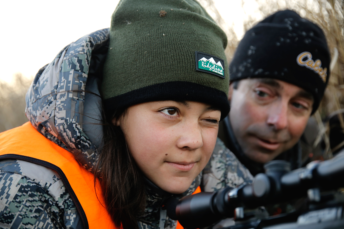 Apprentice and Mentor: A Girl's First Mule Deer Hunt