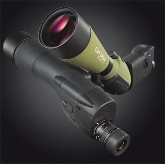 Zeiss Victory Diascope 85 T* FL & Nikon Prostaff WP 82mm