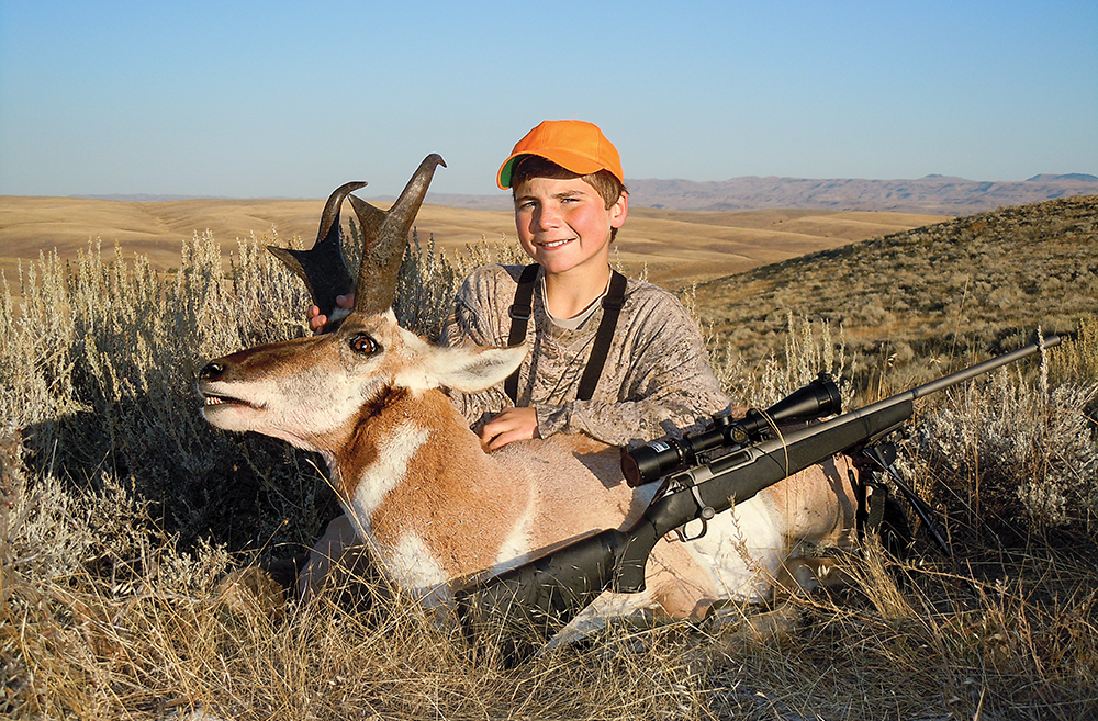 youth hunt antelope