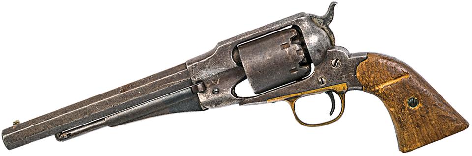 Yellow Hair's Model 1860 New Model Army Revolver