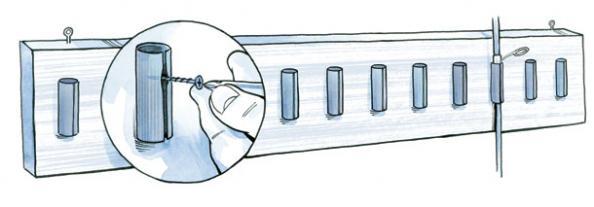 DIY Project: Make a Shotshell Rod Rack