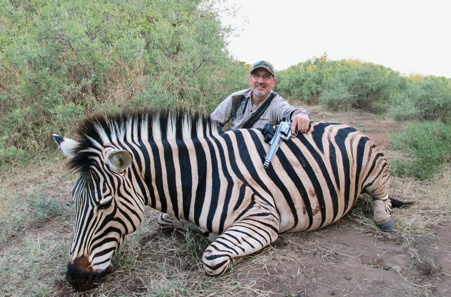 Handguns and Big Game in Limpopo, Africa