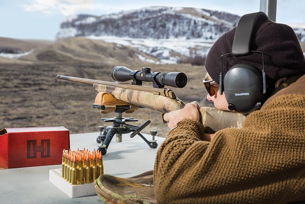 gun test opener at the range
