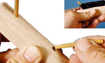 Make an Icefishing Rod