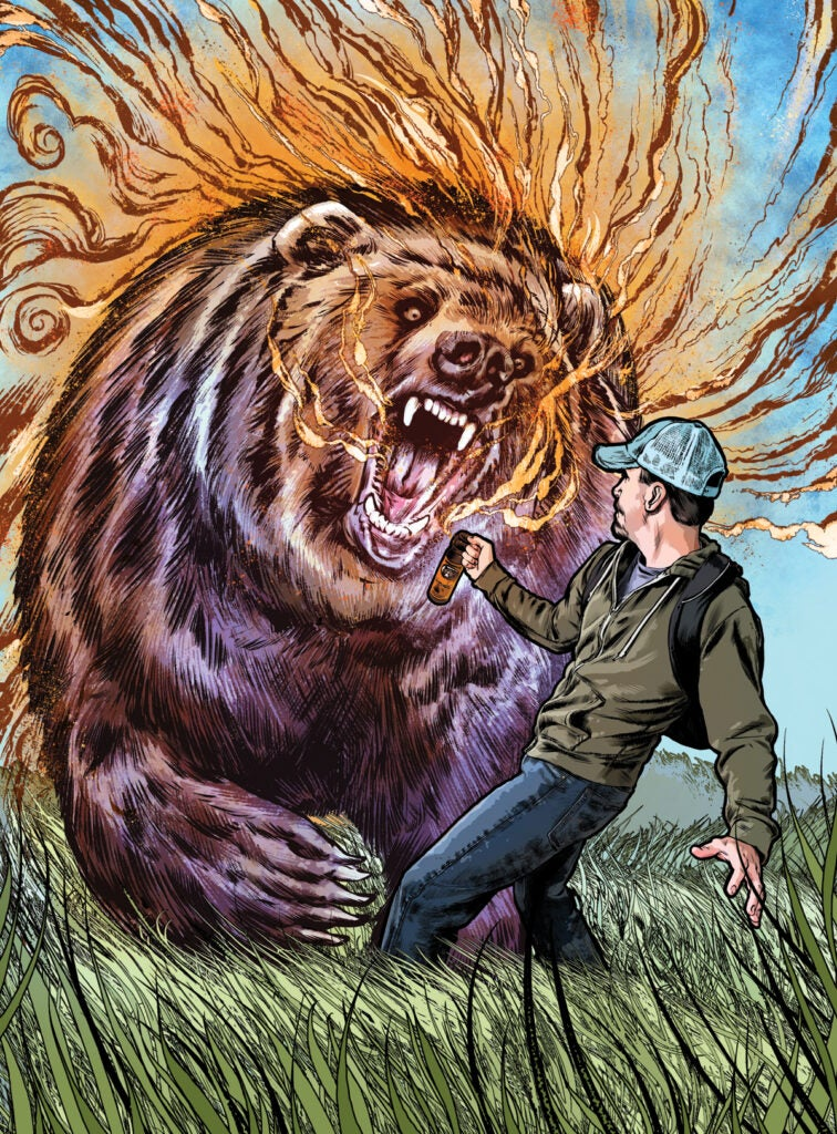 todd Orr bear attack montana