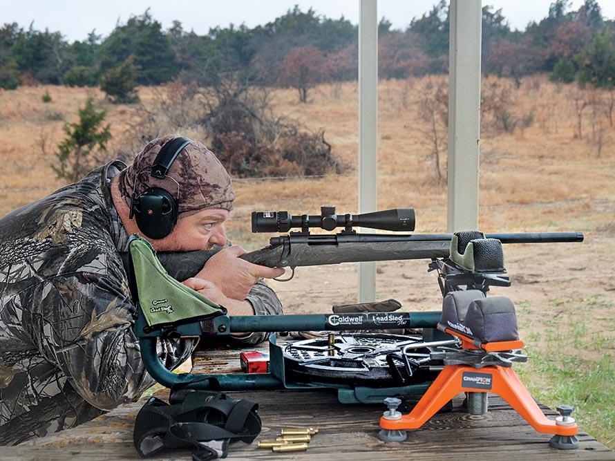 aiming remington 700 at Chain Ranch