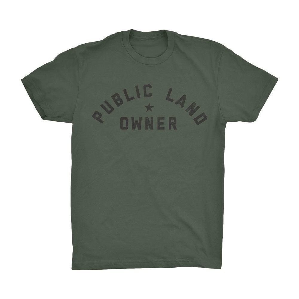 public land owner shirt