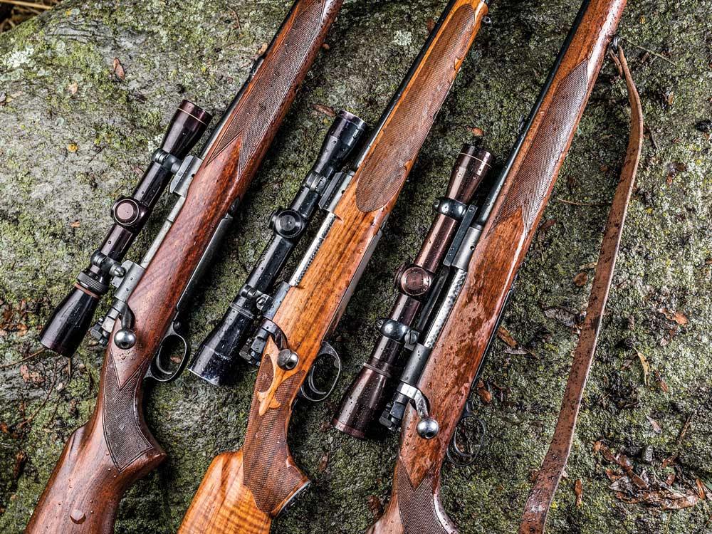 jack o'connor's rifles